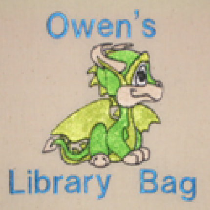 Design 3 - Personalised Library Bags