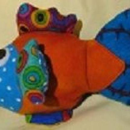 BRIGHT COLOURFUL FISH  - Small