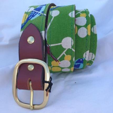 Birdie Material/Leather Ladies Belt