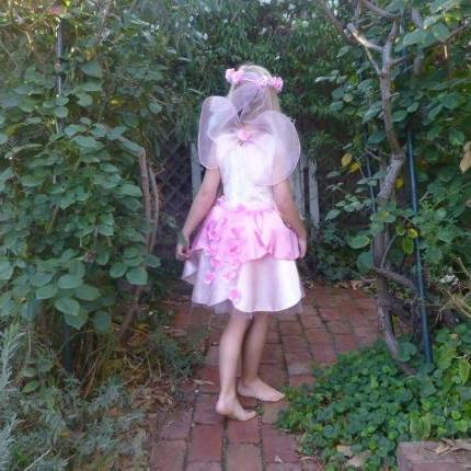 Spring Blossom Fairy Dress with Accessories