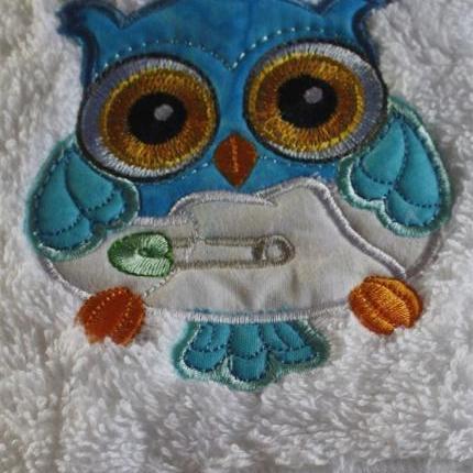 Blue Owl Towel