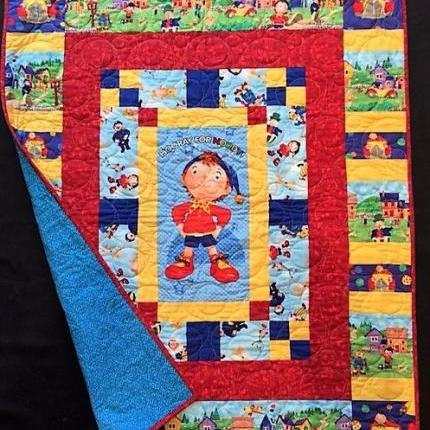 A Hooray for Noddy quilt