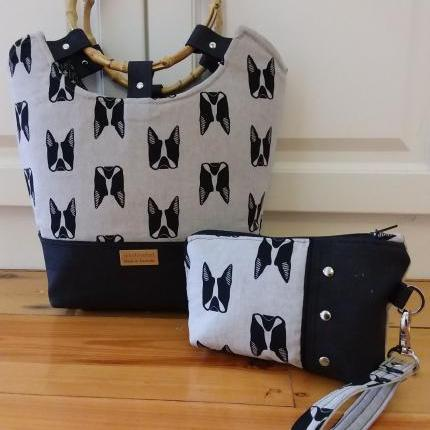 Tilly Day Tote Bag - French Bulldogs