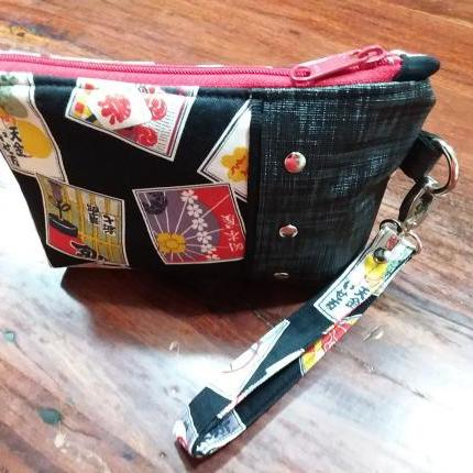 The Turn About Pouch - Asian Fabric